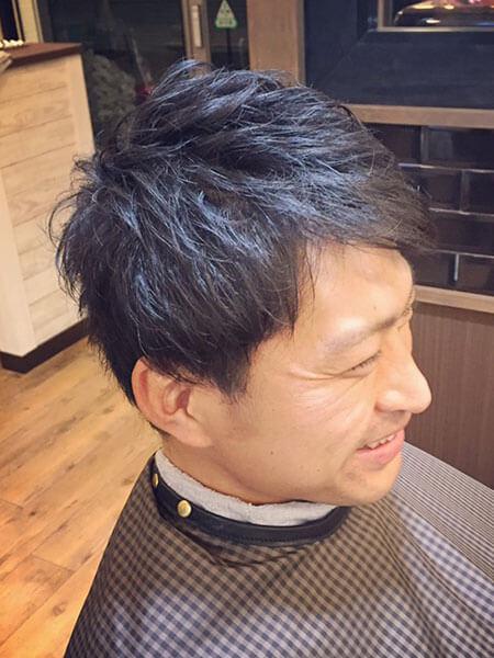 北浦和の美容院・美容室 robii ヘアスタイル 「テクスチャードショート」